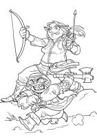 Legolas and Gimli by pietro-ant