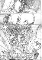 The Monk pencils pg 5 by stockyboy