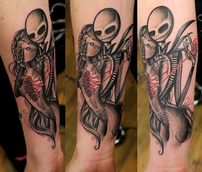 jack and sally by jrunin