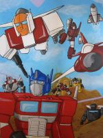 TFG1- Autobots Roll Out by Shyrstyne