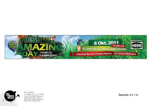 HESS Amazing Day Tour De Kampoeng Banner by Janitra