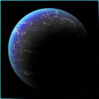 A Blue Planet by Frankencow