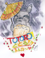 TOTORO. by Donnis