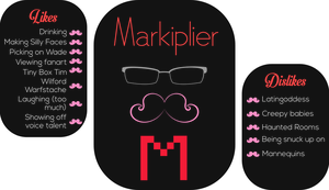 Minimalist YouTuber | Markiplier by Endermore