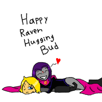 Bud and Happy Raven by Ask-Bud