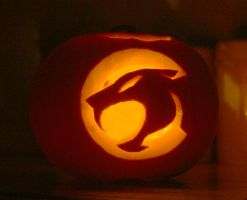 Thundercats Pumpkin by mikedaws