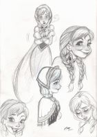 Anna Roughs by em-scribbles