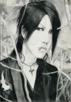 Aoi from The GazettE by ShadowofChaos666