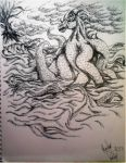 Sea Monster by JuStHaVEHoPe
