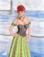 Princess Anna of Arendelle by BGShepard