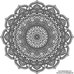 Krita Mandala 49 by WelshPixie