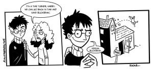 Harry Potter Paradox by neotonic