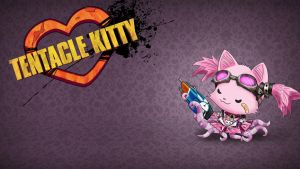 Tentacle Kitty Tentaclemancer Wallpaper by TentacleKitty