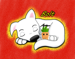 Bolt by okamiblanco