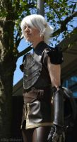 Dragon Age Photoshoot 3 - Fenris by Sky-Oblivion