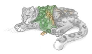 green and gold and grey by onkelscrut