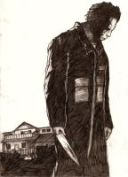Rob Zombie's Michael Myers by planedreamer