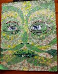 The Green Man Collage by zozzy-zebra
