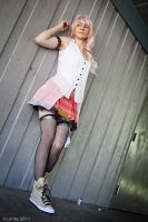 Serah Farron, FF13, cosplay by Cosmic-Empress