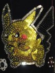 Pikachu Hand Embroidery by shiny-latios01