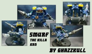 Smurf, the Killa Kan by Dgs-Krieger