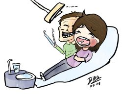 I HATE GOING TO THE DENTIST by dinamata