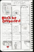 Binder Calendar Sketches 1 by marigrace