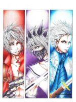 Devil may cry 3 and Final fantasy Unlimited by snow0storm