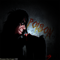 Alice Cooper POISON by DJ88