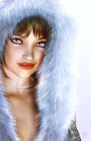 Snowbunny by seanearley