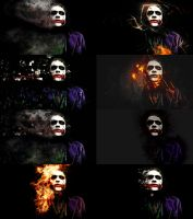 Joker Wallpaper Pack by PhusixNinja