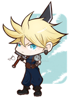 Cloud Strife by mayka89