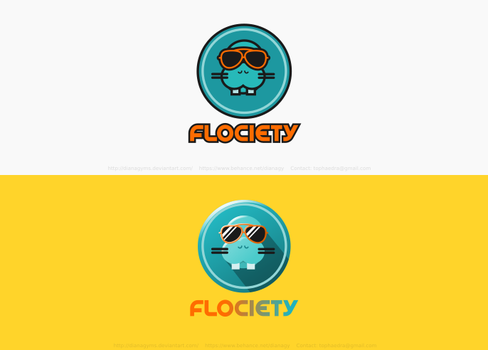 Flociety Logo by DianaGyms