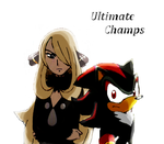 Shadow and Cynthia: Elite Warriors by ToonEmpire24