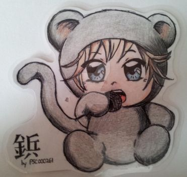 Byou like monkey ^_~ by Mika-loves-Kai
