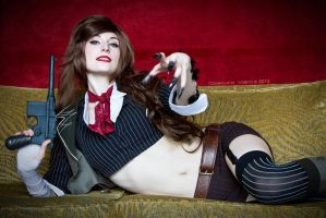 Hither Closer - Bioshock Infinite - Booker Dewitt by ByndoGehk