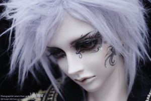 BJD Switch Taeheo Custom Face-up by lightlimner