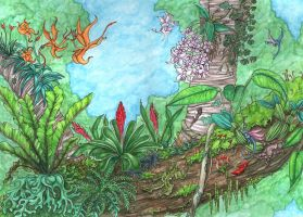 Epiphyte Dragons by Typthis