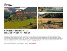 Redefined Fitness Email Blast by mmusgjerd