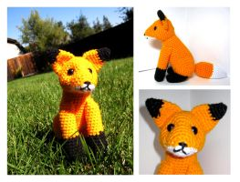 Fox Amigurumi by Sparrow-dream