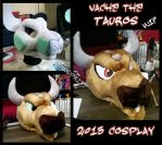 Tauros Cosplay WIP by CowSprite
