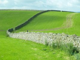 Stone Wall and Gate by chribob