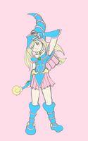 Dark Magician Girl # by luiguiboy