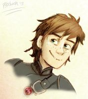 Hiccup - colored- by Psychoon