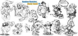 random sketches.. by ShadyDesigns