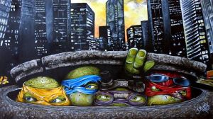 Teenage mutant ninja turtles by JBerlyart
