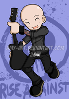 Zach - Rise Against by amy-art