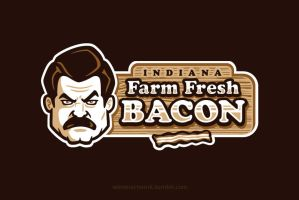 Farm Fresh Bacon by Winter-artwork