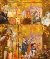 Blondes of Final Fantasy by GoldenFlowerHeart