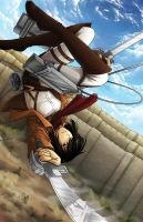 Attack On Titan :: Mikasa by kidoairaku